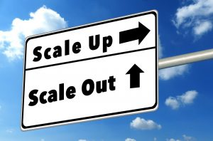 scale-up vs scale-out storage